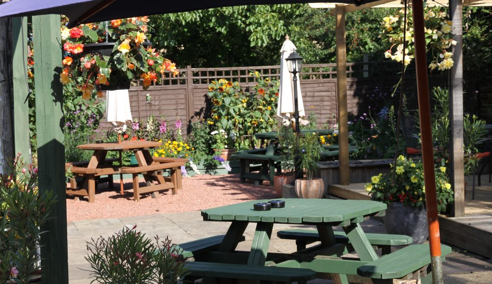 Pub Terrace & garden