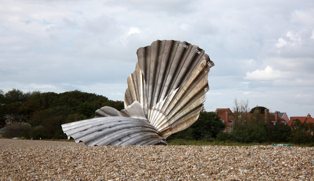 Aldeburgh Shell Sculpture