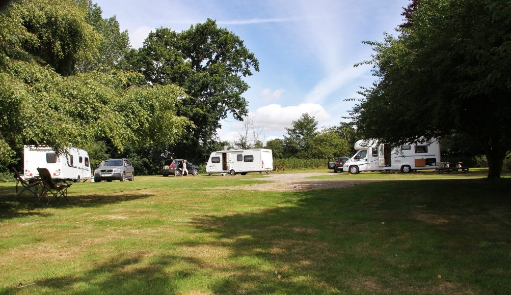 Caravan Site Suffolk
